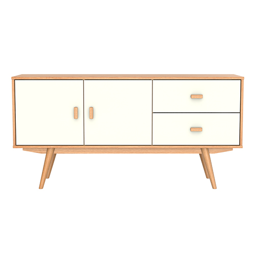 Sofia sideboard large scandinavian furniture white for Sideboard scandi