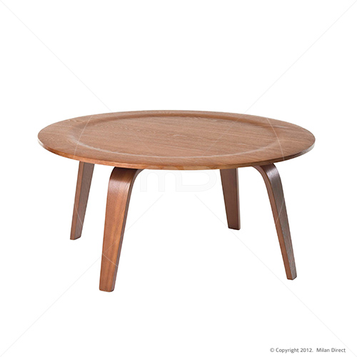 Plywood Coffee Table Eames Reproduction Walnut Wedding Gift Registry Easy Weddings