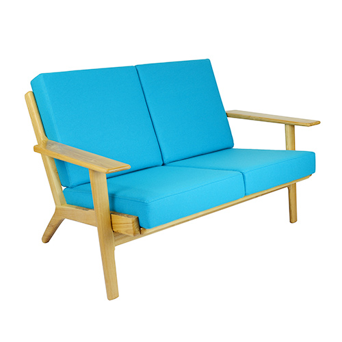 Hans Wegner Plank 2 Seater Sofa Replica Light Blue Wedding Gift Registry Easy Weddings